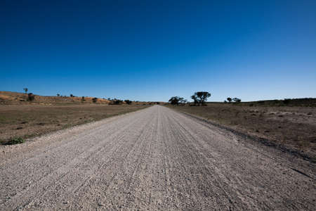 south africa soil: Road from Kgalagadi Transfontier park, South Africa