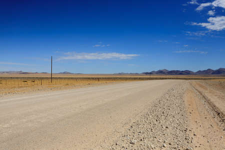 solitaire: Landscape along a dirt road from Sesriem to Solitaire, Namibia