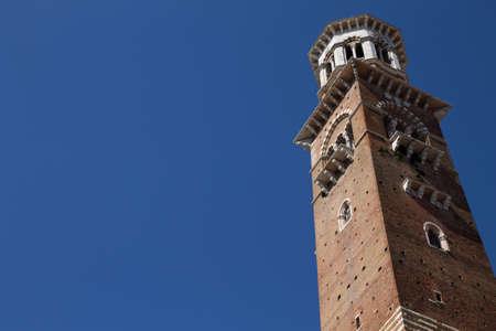 torre: A view of Torre dei Lamberti, Verona, Italy
