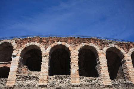 amphitheatre: A view of amphitheatre Arena, Verona , Italy Stock Photo