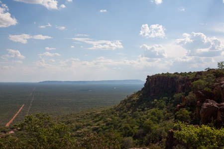 Panorama from Waterberg National Park Namibia Reklamní fotografie