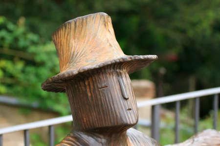 giardino: Tolons sculpture from Rose Garden, Florence, Italy Stock Photo