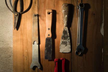 allen key: Hand Tool background. Industrial background. Bricolage tools.
