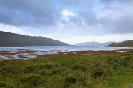 highland region: Beautiful scottish panorama from Highland region. Scotland travel destionation