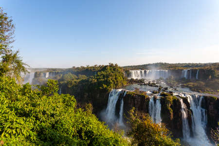 Landscape from Iguazu Falls National Park, Argentina. South America Adventure travel