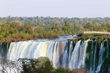 Landscape from Iguazu Falls National Park, Argentina. South America Adventure travel