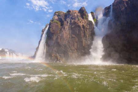 Landscape from Iguazu Falls National Park, Argentina. World heritage site. South America Adventure travel