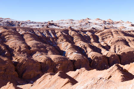 Valley of the Moon landscape, Chile. Chilean panorama. Valle de la Luna