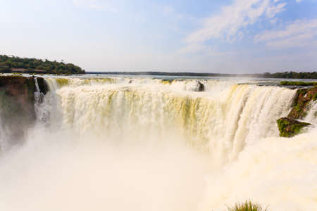 Landscape from Iguazu Falls National Park, Argentina. World heritage site. South America Adventure travel