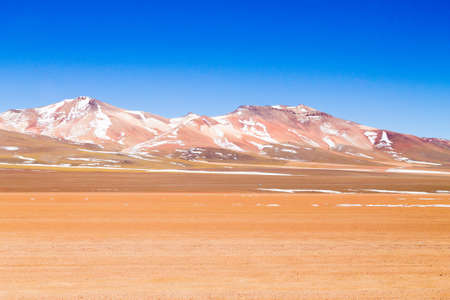 Bolivian mountains landscape,Bolivia.Andean plateau view Stock Photo