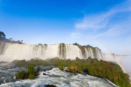 Landscape from Iguazu Falls  Park, Argentina.   site. South America Adventure travel Imagens