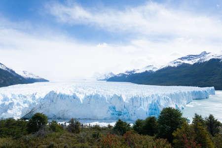 Perito Moreno glacier view, Patagonia landscape, Argentina. Patagonian landmark Stock Photo