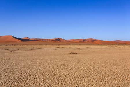 Panorama of red dunes from Sossusvlei Namibia Reklamní fotografie