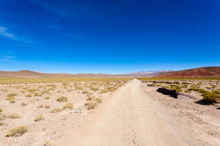 Bolivian mountains landscape,Bolivia.Andean plateau view Imagens