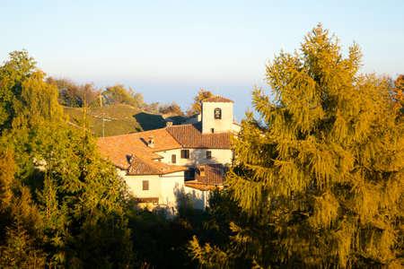 Hermitage of Conche, Trompia valley, Brescia. Italy alps landmark Stock Photo