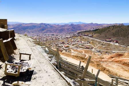 Potosi aerial view,Bolivia.Bolivian mining city Фото со стока - 131733808