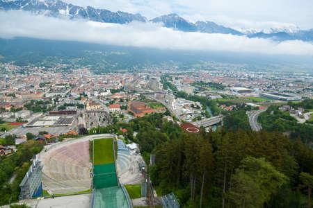 Bergisel ski jumping, Innsbruck, Austria