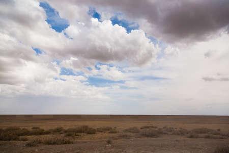 Road to Serengeti national park, Tanzania landscape. African panorama