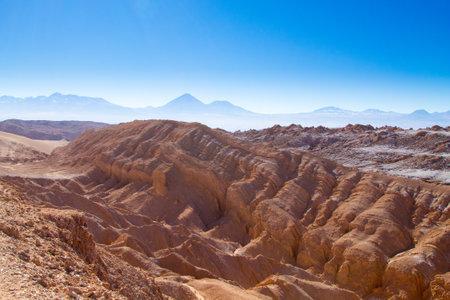 Bolivian mountains landscape,Bolivia.Andean plateau view 免版税图像