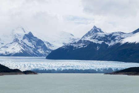 Perito Moreno glacier view, Patagonia landscape, Argentina. Patagonian landmark Archivio Fotografico