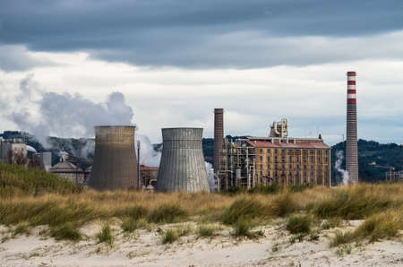 bicarbonate: Smoking chimneys in a factory for bicarbonate production Editorial