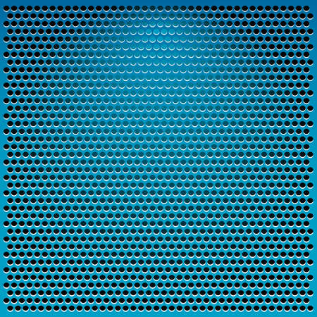 blue metal abstract background illustration Stock Illustration - 11945852