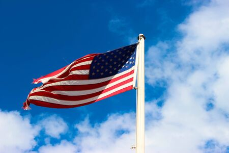 American flag Stock Photo - 42742093