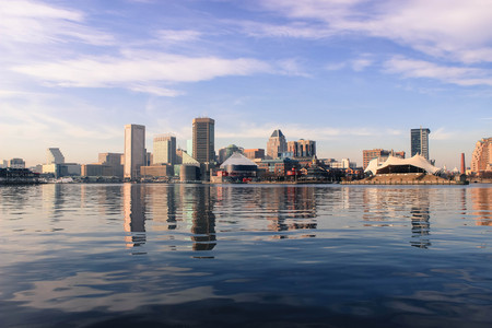 Inner Harbor, Baltimore, Maryland Stock Photo