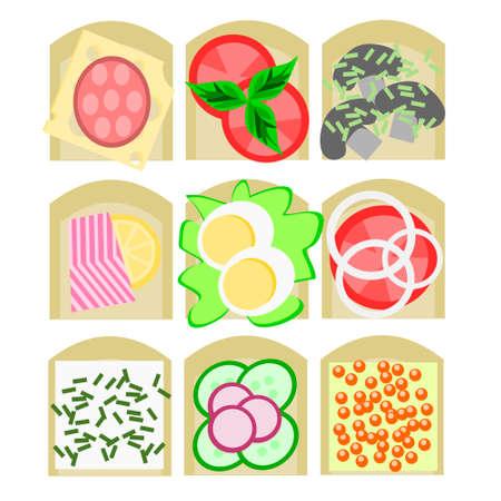 vegetarians: Nine kinds of sandwiches for all tastes meat eaters, vegetarians, vegans