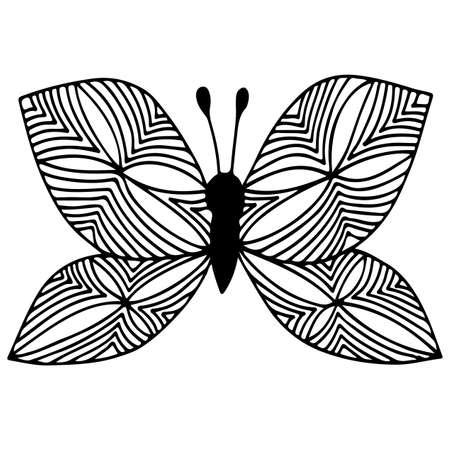 Cent ans et les poésies opportunes - Page 17 71818510-papillon-isolé-abstrait-de-ligne-noire-pour-le-tatouage-livre-de-coloriage-peut-être-utilisé-pour-carte-in
