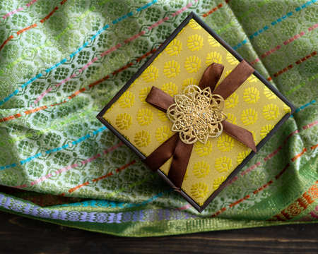 Hari Raya or Eid background with Malay Muslim traditional culture design.