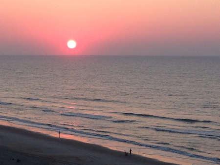 myrtle beach: Sun rise in myrtle beach