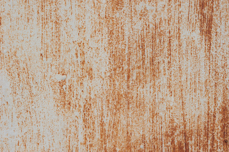 Background of old rusty metal with scratches. Grunge texture. photo