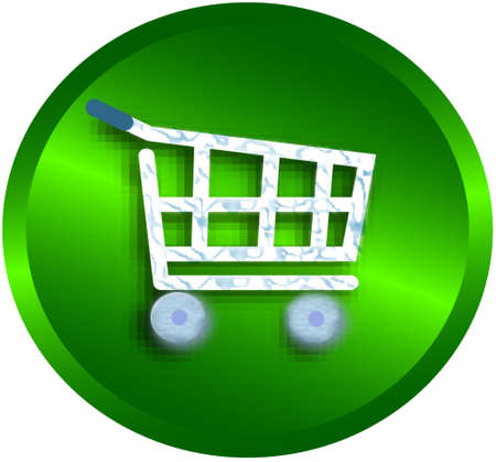 shopping cart , vector version