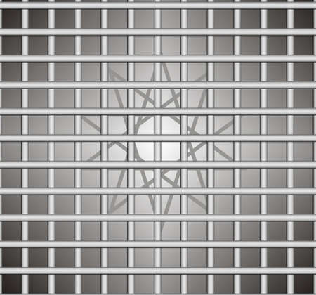 grating: Gray background with the motif of the grating, geometric,