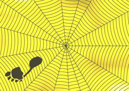 yellov: yellov background , spider