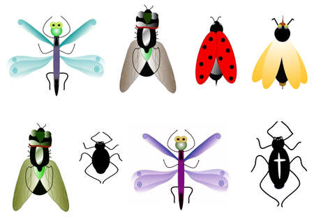 platen: set Insect