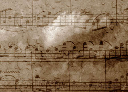minuet: music retro background with texture