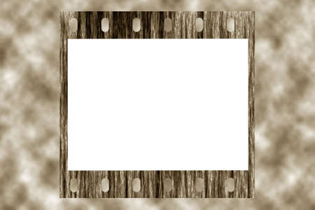 retro film frame, white place for photo and text, sky background Stock Photo - 5048734