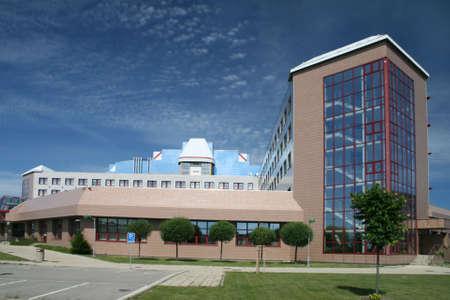edificio industrial: Moderno edificio de comercial