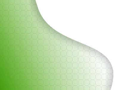 Abstraction green technical background made from hexagons,palce for text Reklamní fotografie