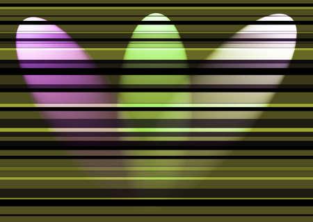 colors three night-light reflector,  background