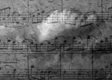 minuet: music blue background with texture