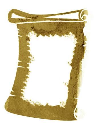 retro sepia background,parchment, white frame for text