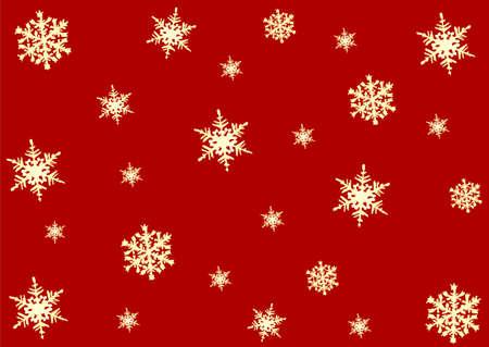 Christmas background, snowflakes photo