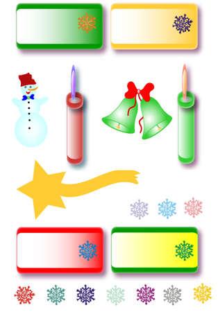 christmas motive: Christmas motive, place for text
