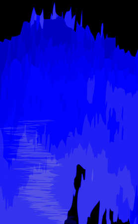 staining: Blue Background