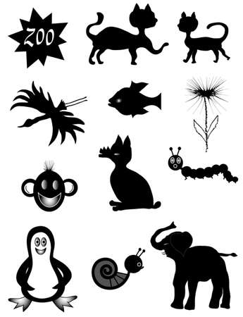 Animal symbols Illustration