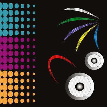 decibels: Music background