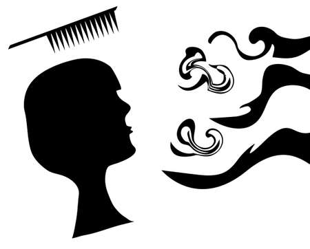 Hairdressing set, Stock Vector - 7336371